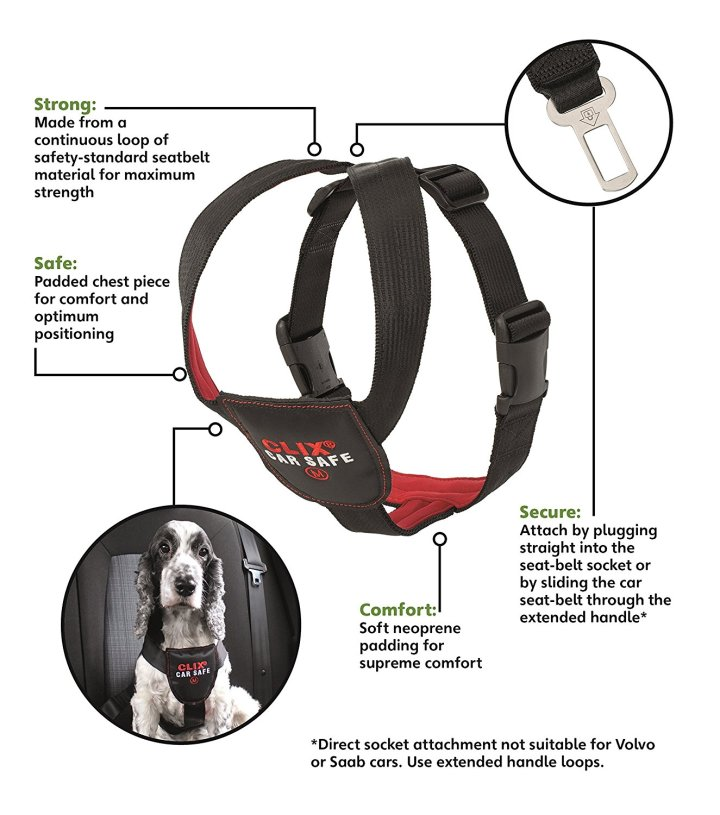 Instructions for the Clix car safety harness
