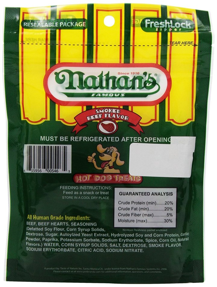 Nathan's Famous Hot Dog Treats review 2
